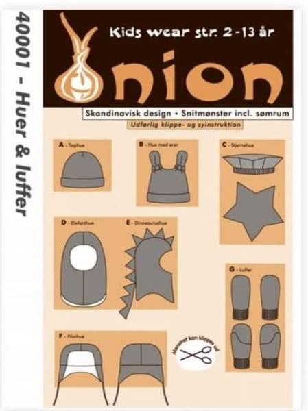 Bilde av Luer og votter 2-10 år - Onion