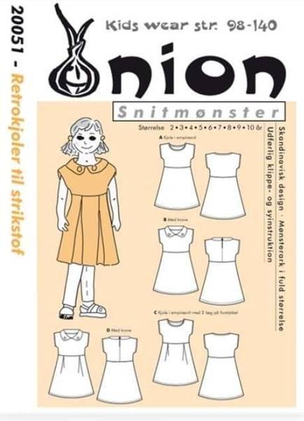 Bilde av Retrokjole 2 - 10 år - Onion