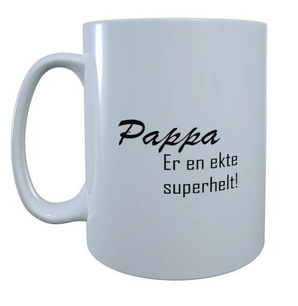 Bilde av Pappa er en ekte superhelt